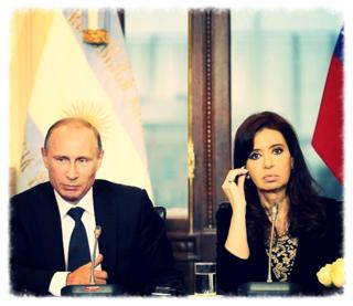 CFK y PUTIN 2