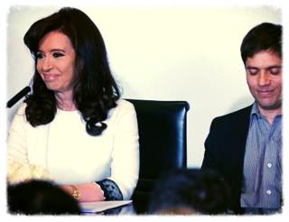 CFK Y KICILLOF 31 JULIO 2014