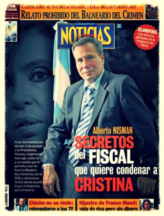 PORTADA NOTICIAS ALBERTO NISMAN